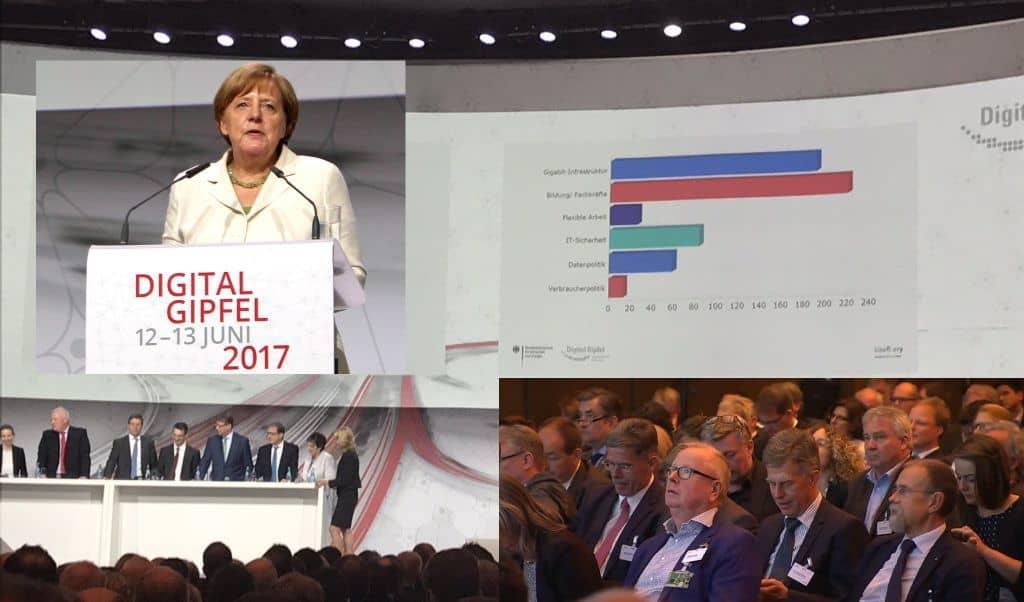Voting auf dem Digitalgipfel 2017