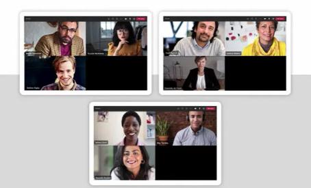 Videokonferenz-Räume